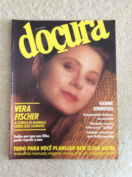 Revista Doçura 97 Vera Fischer Natal Moda Culinária F837