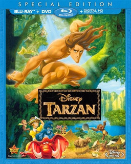 Blu-ray + Dvd Tarzan (1999) De Walt Disney