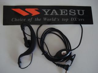 Fone De Ouvidos - Yaesu Vx 3r Lote Com 05 Unidades