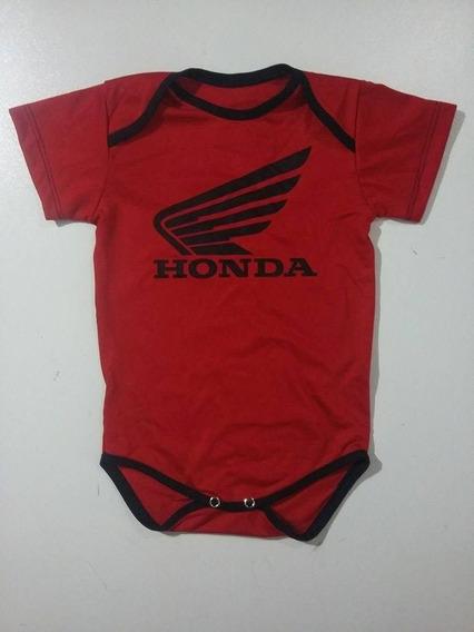 Body Honda Motors Infantil - Bebê - Ropapreta