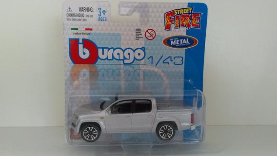 Burago Street Fire - Volkswagen Amarok - Escala 1/43