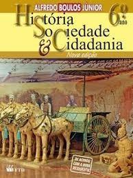 História, Sociedade & Cidadania - 6º Ano Livro Usado