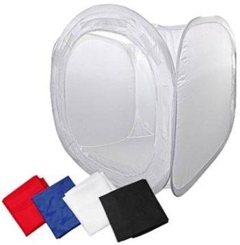 Tenda Difusora De Luz Mini Estúdio Fotográfico 80cm X 80cm