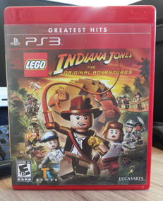 Jogo Lego Indiana Jones Play 3 (original) Novo E Lacrado