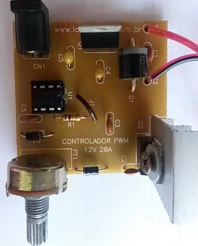 Motor 12v Dc 15a Super Potente Controlador Velocidade Pwm