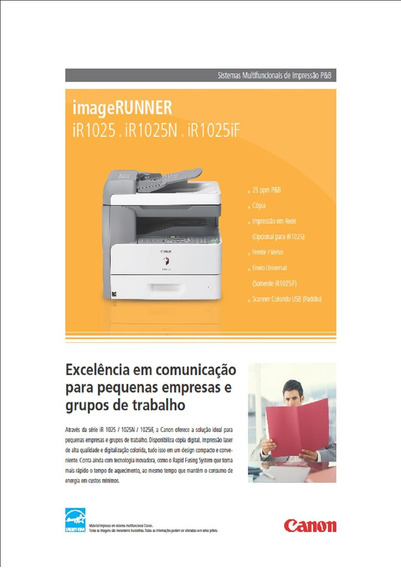 Impressora Canon Imagerunner 1025i