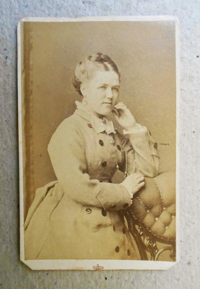 Fotografia Antigua Carte De Visite G. W. Wilson Escocia 1866