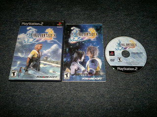 Final Fantasy X Completo Para Play Station 2,excelente