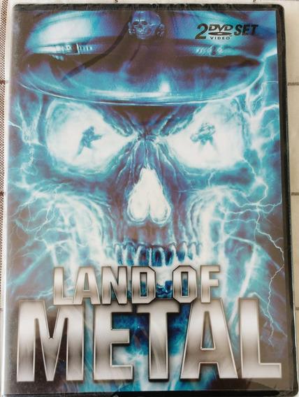 Dvd Land Of Metal C/ Motorhead, Judas, Immortal, Therion ...