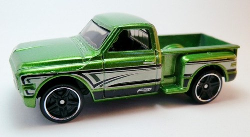 Camioneta  Chevrolet Chevy Pickup  Hot Wheels 7cm Largo 1/64