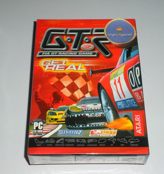 Gtr Racing Corrida ¦ Jogo Pc Original Cx Lacrada ¦ M Física