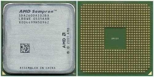Processador Amd Sempron 2600 64 Bits Socket 754