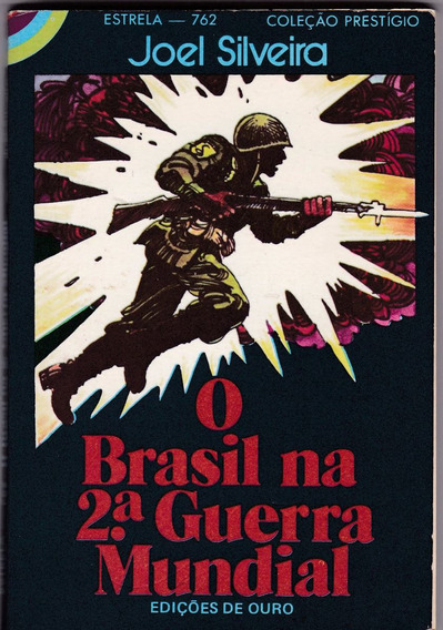 Livro De Bolso - O Brasil Na 2ª Guerra Mundial-joel Silveira