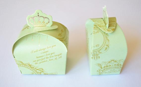 Cajas Souvenir Casamiento X 10 Unidades