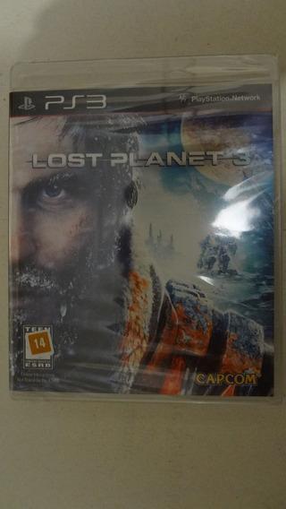 Lost Planet 3 Ps3 - Mídia Física - Novo E Lacrado
