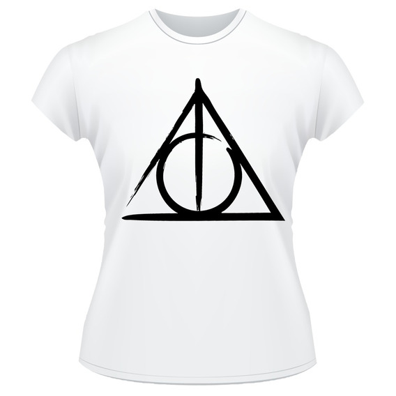 Baby Look Harry Potter Frente Verso Camiseta Feminina