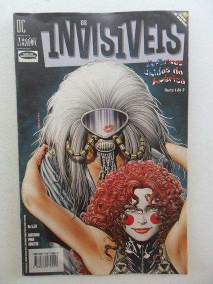 Os Invisiveis! Infernos Unidos Da América Nºs 1 E 2! 1999!