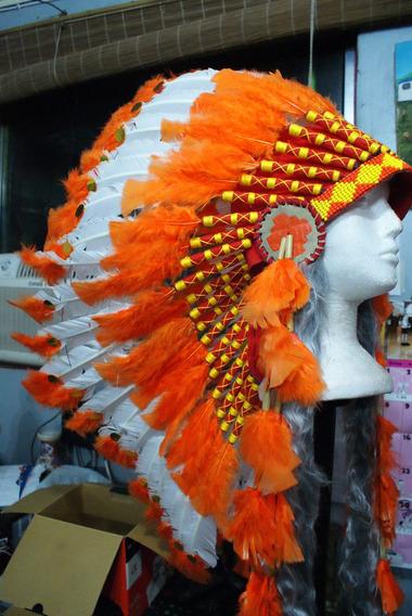 Cocar Indígena Ceremonial Nativo Americano Xamanismo