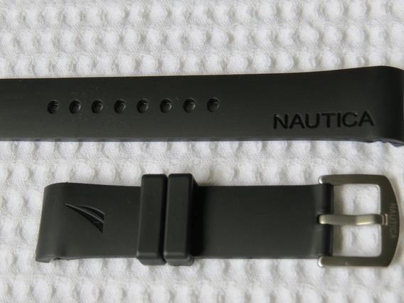 Pulseira Relogio Nautica Original 22mm Frete Grátis