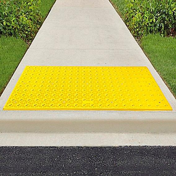 Placa De Advertencia Discapacitados Para Concreto 60x121 Cm