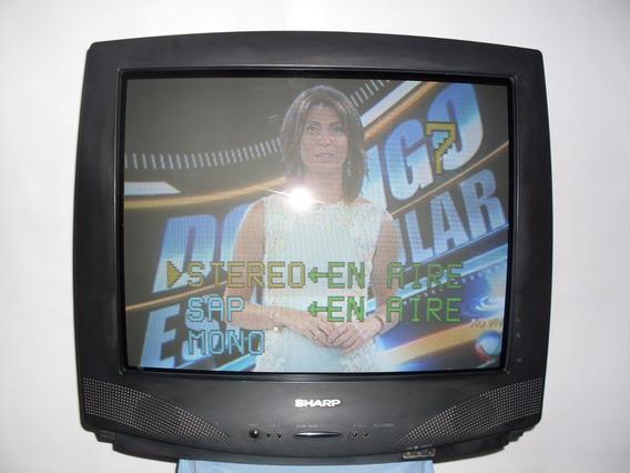 Tv Sharp 29 Polegadas Tela Plana (raridade)