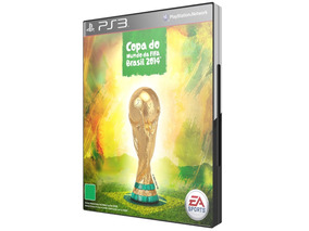 Game: Copa Do Mundo Da Fifa Brasil 2014 Para Ps3 - Ea -novo!