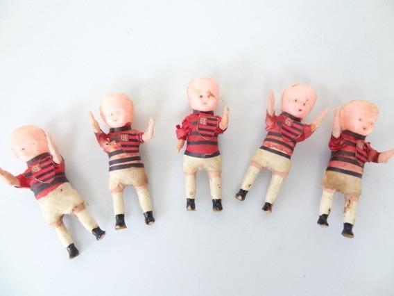 5 Bonecas Antiga De Aniversario Anos 50 Estrela Do Flamengo