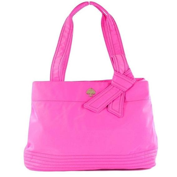 Bolsa Kate Spade Original Maryanne Flatiron Nylon Bag - Pink