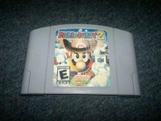 Mario Party 2 Para Nintendo 64,excelente Titulo,checalo