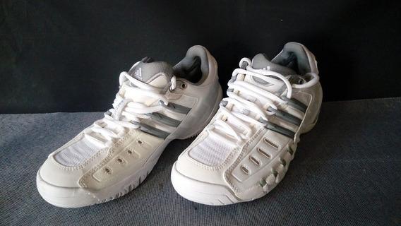 Tenis Feminino adidas Barricade Branco Original Numero 35