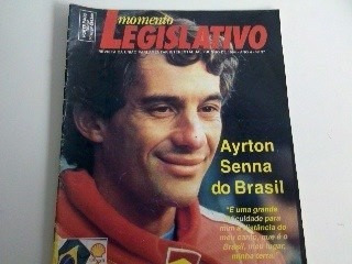 Revista Momento Legislativo. Ayrton Senna. Frete Grátis