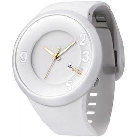 Relógio Odm O.dd127-2 Bxbx Analógic Unissex Branco- Refinado