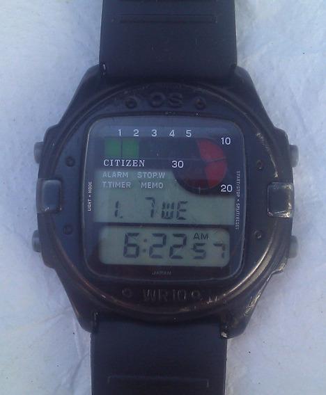 Relógio Citizen D100 !!! Leia A Descrição!!!!!