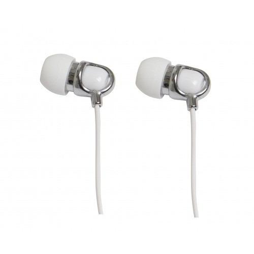 Fone De Ouvido Branco Tipo Earphone C/ Microfone V12486-wht