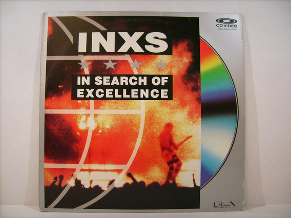 Ld - Laserdisc Inxs - In Search Of Excellence