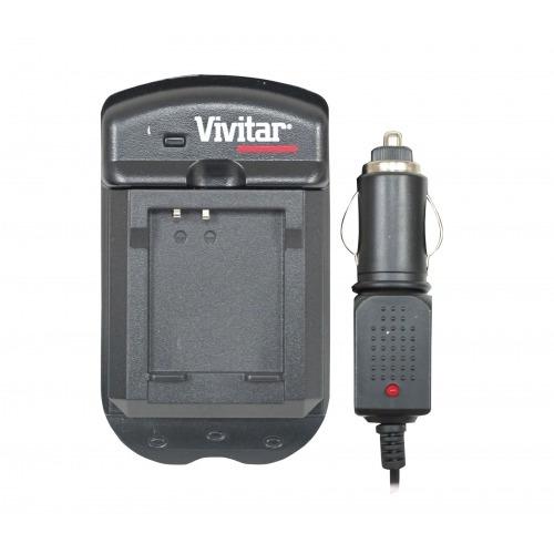Vivitar Vivscpan Carregador De Bateria P/ Câmera Panasonic