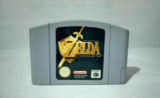 Juego Zona Pal Europa The Legend Zelda Ocarina Of Time N64
