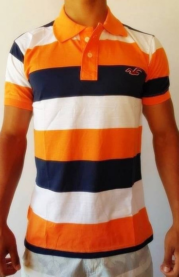 Camisa Camiseta Polo Hollister Pronta Entrega