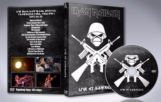 Dvd Iron Maiden - Live At Donington 2007