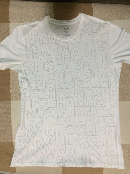 Camisa A|x Armani Exchange - M - Branca - Frete Gratis