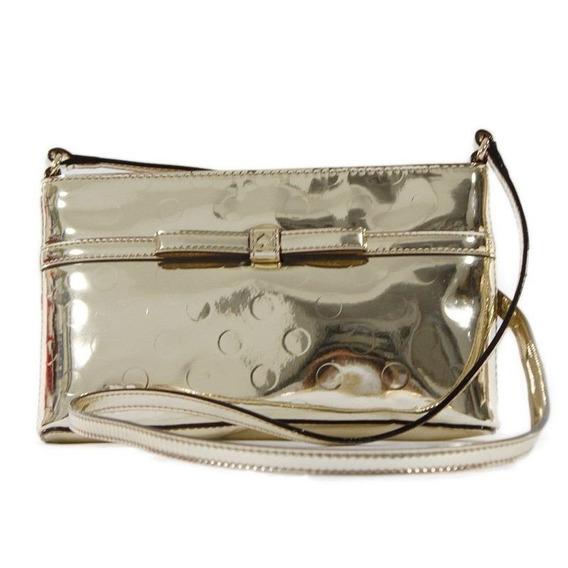 Bolsa Kate Spade Original Amy Camellia Street Bag - Gold