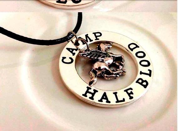 Pingente Colar Poseidon Percy Jackson - Camp Half Blood