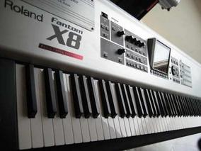Samples Piano Acústicos Roland Fanton X8 Para Kontakt