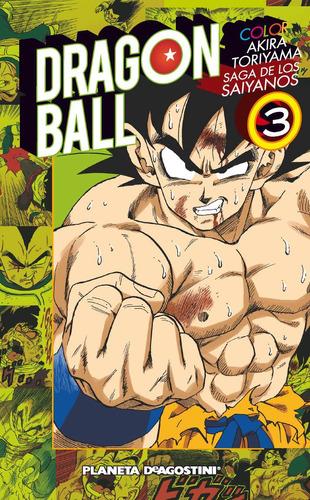 Manga Dragon Ball Color Saga Saiyajin Tomo 03 - Planeta