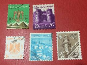 Selos Do Egito - África - 5 Selos (ver Imagem)