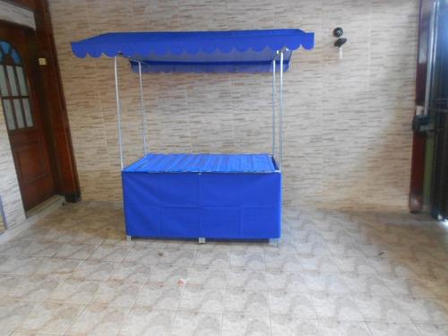 Barraca Para Camelôs Feiras Eventos Com Cobertura 150x080