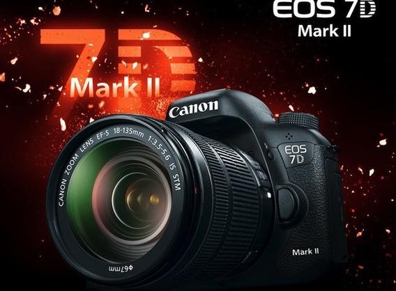 Canon Eos 7d Mark Ii Dslr Camera Profissional