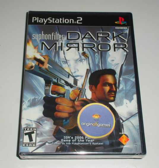 Syphon Filter Dark Mirror ¦ Jogo Ps2 Orig Lacrado ¦ M Física