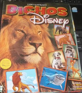 Album De Figurinhas Livro Ilustrado Bichos Incompleto