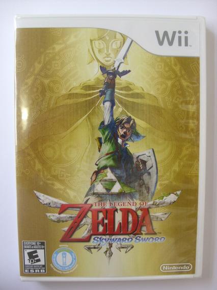 Zelda Skyward Sword Nintendo Wii Original Lacrado